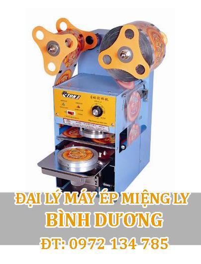Máy ép miệng ly trà sữa bán tự động Eton® ET-A9
