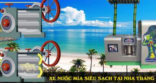 bán xe nước mía siêu sạch tại nha trang khánh hòa