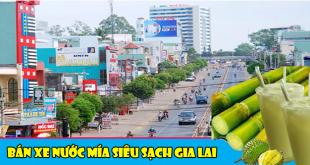 bán xe nước mía siêu sạch tại gia lai