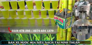 bán xe nước mía siêu sạch tại ninh thuận